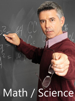 Science and Math teachers are in high demand